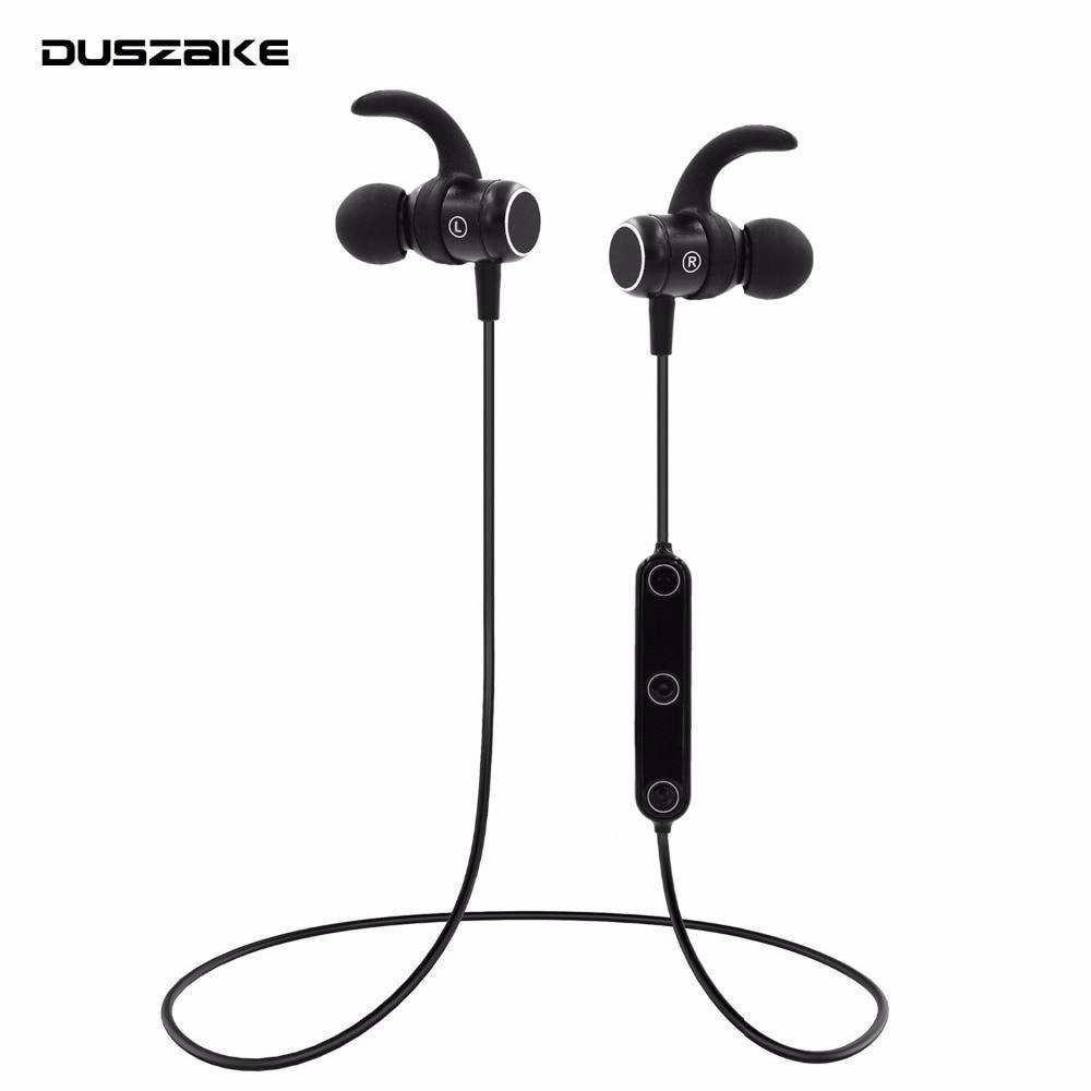 Duszake S4 Sport Bluetooth Headphones Wireless In Ear Earpieces For Iphone Earphone Bluetooth Headphone For Xiaomi Samsung Ph Bluetooth Headphones Headphones Iphone