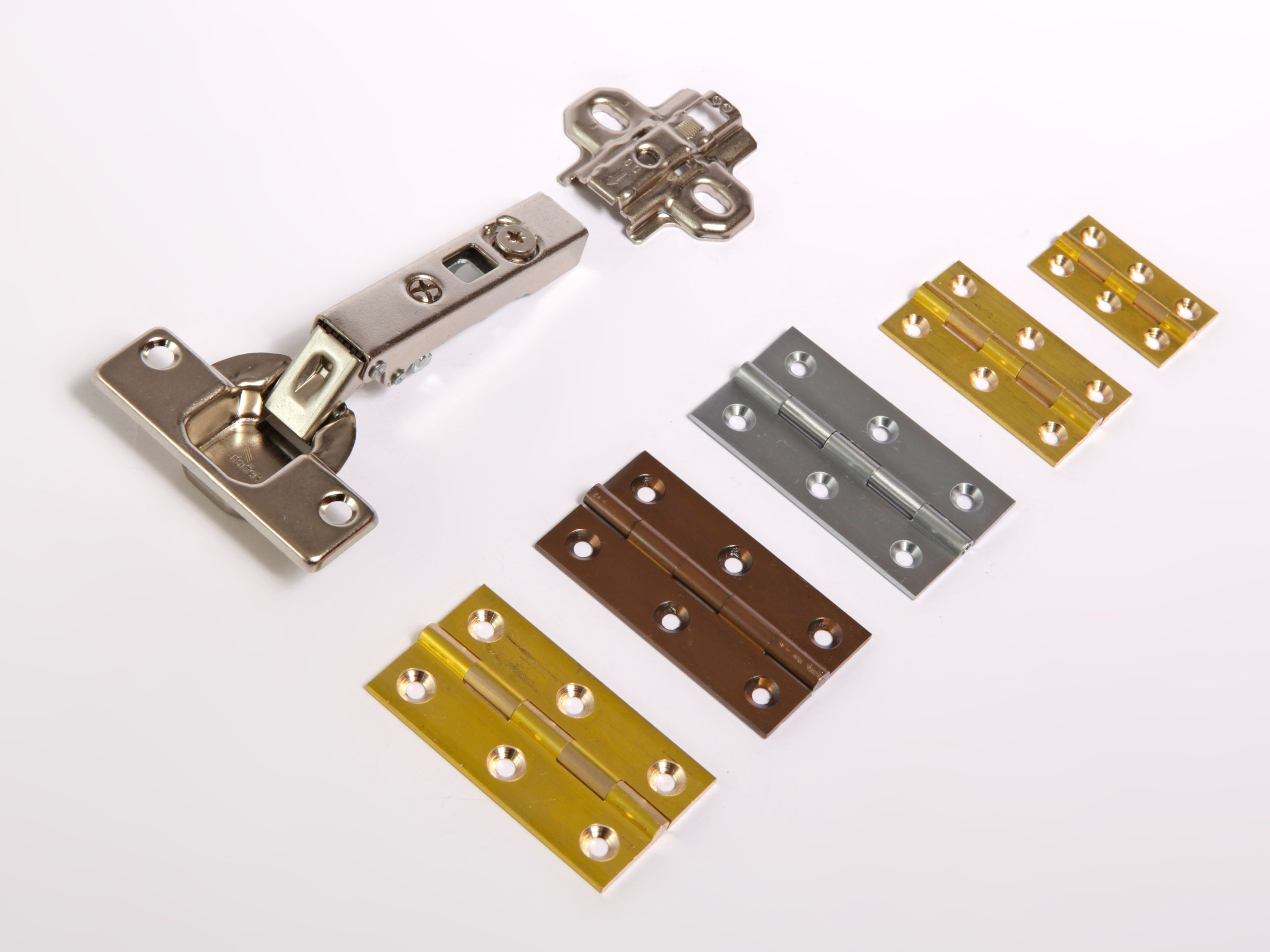 Cabinet Hinges Cupboard Hinge Small Butt Hinge Brass Hinges