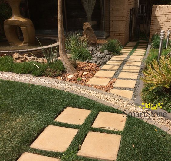 Renovate your gardens design with SmartStone, during lockdown – without spending an arm and a leg.  #SmartStoneSA #Paving #PavingIdeas #LandscapingProducts #Cobblestones #Pavers #Flagstones #Hardscaping #Landscaping #GardenLandscaping #DIYGardenDesign