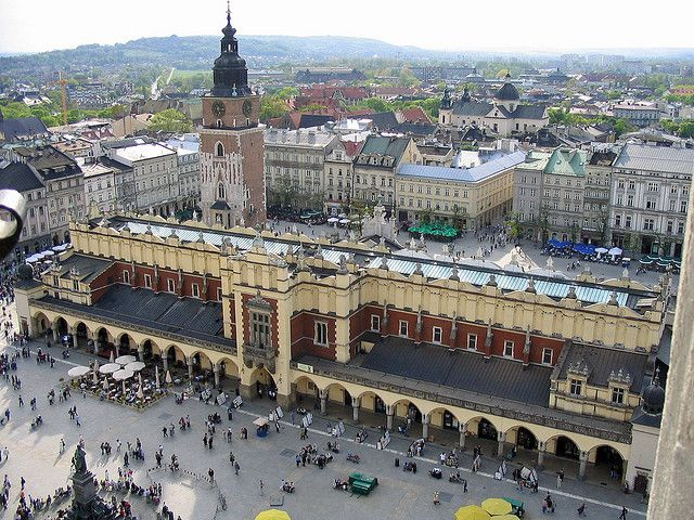 By Vigo74 On Flickr Old Town Square Taken From Krakow Visit