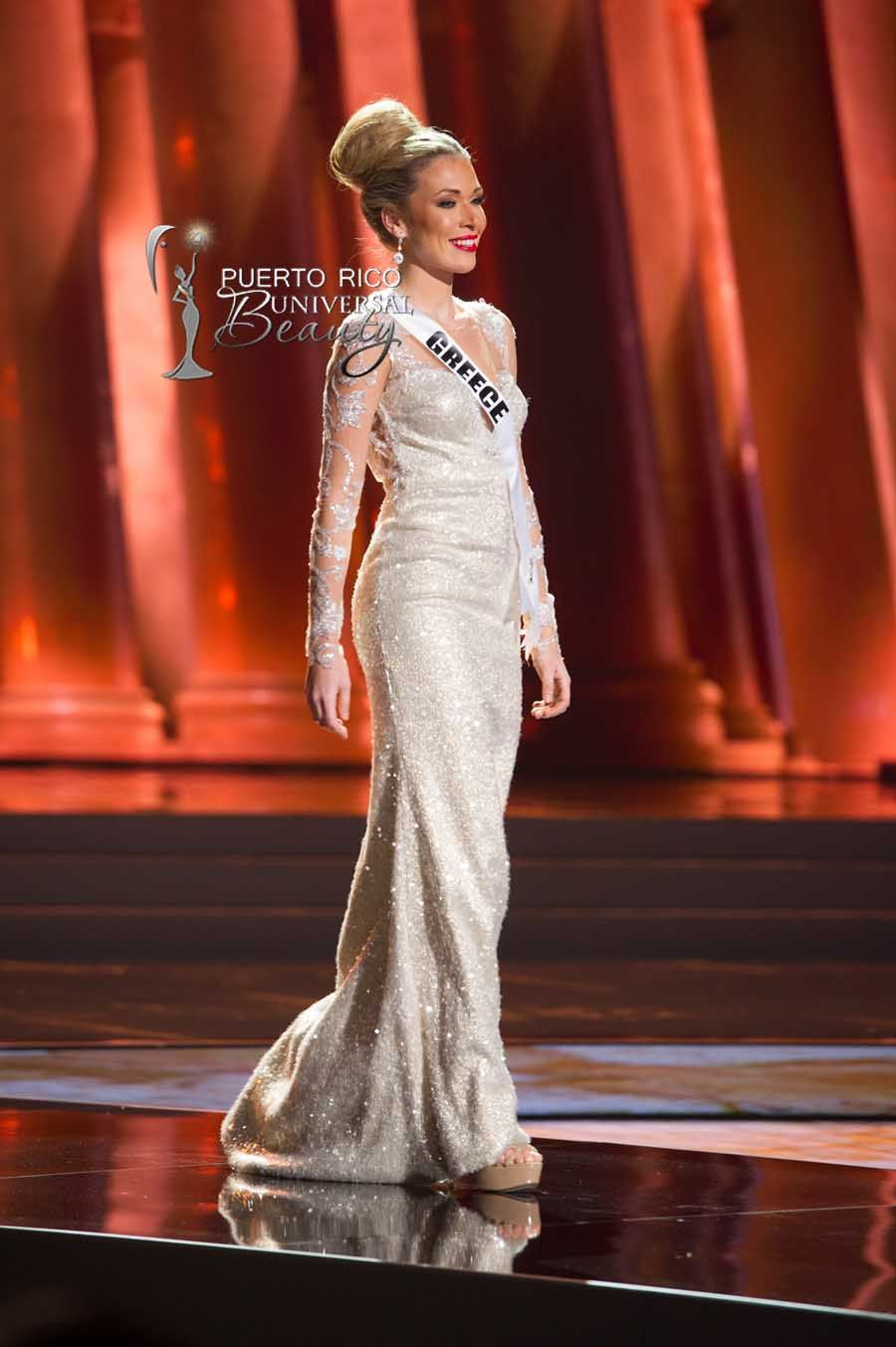 MISS UNIVERSE 2015 :: PRELIMINARY EVENING GOWN COMPETITION | Mikaela ...
