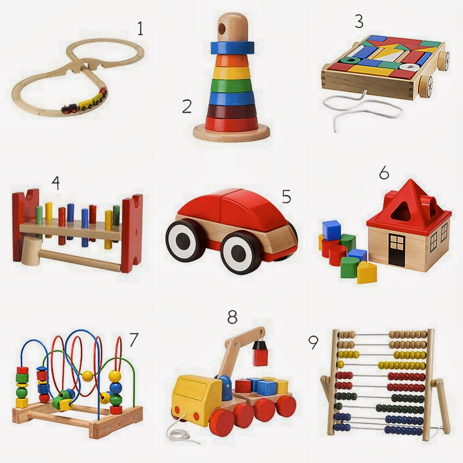 wood toys - ikea edition wooden toys for toddlers | cm room
