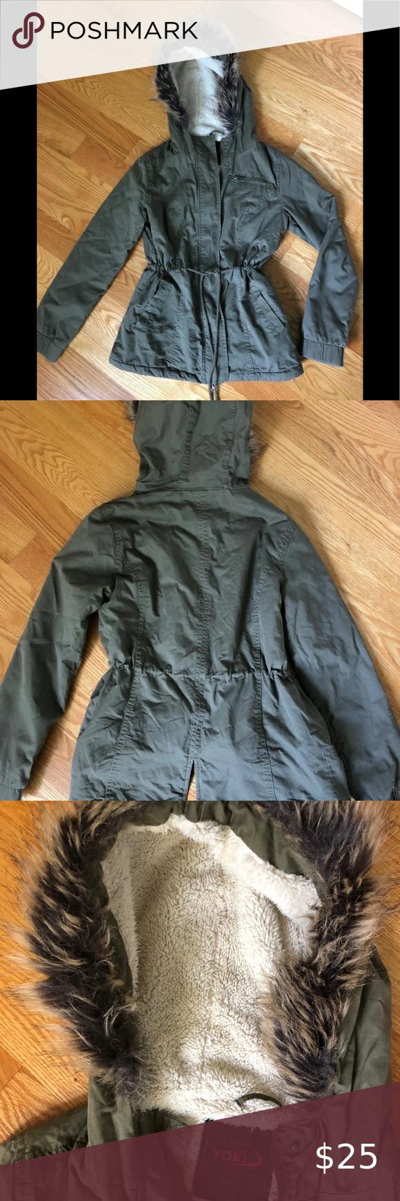Yoki Jacket Sold Lightweight Anorak Jacket Green Fall Jacket Olive Green Fall Jacket [ 1740 x 580 Pixel ]
