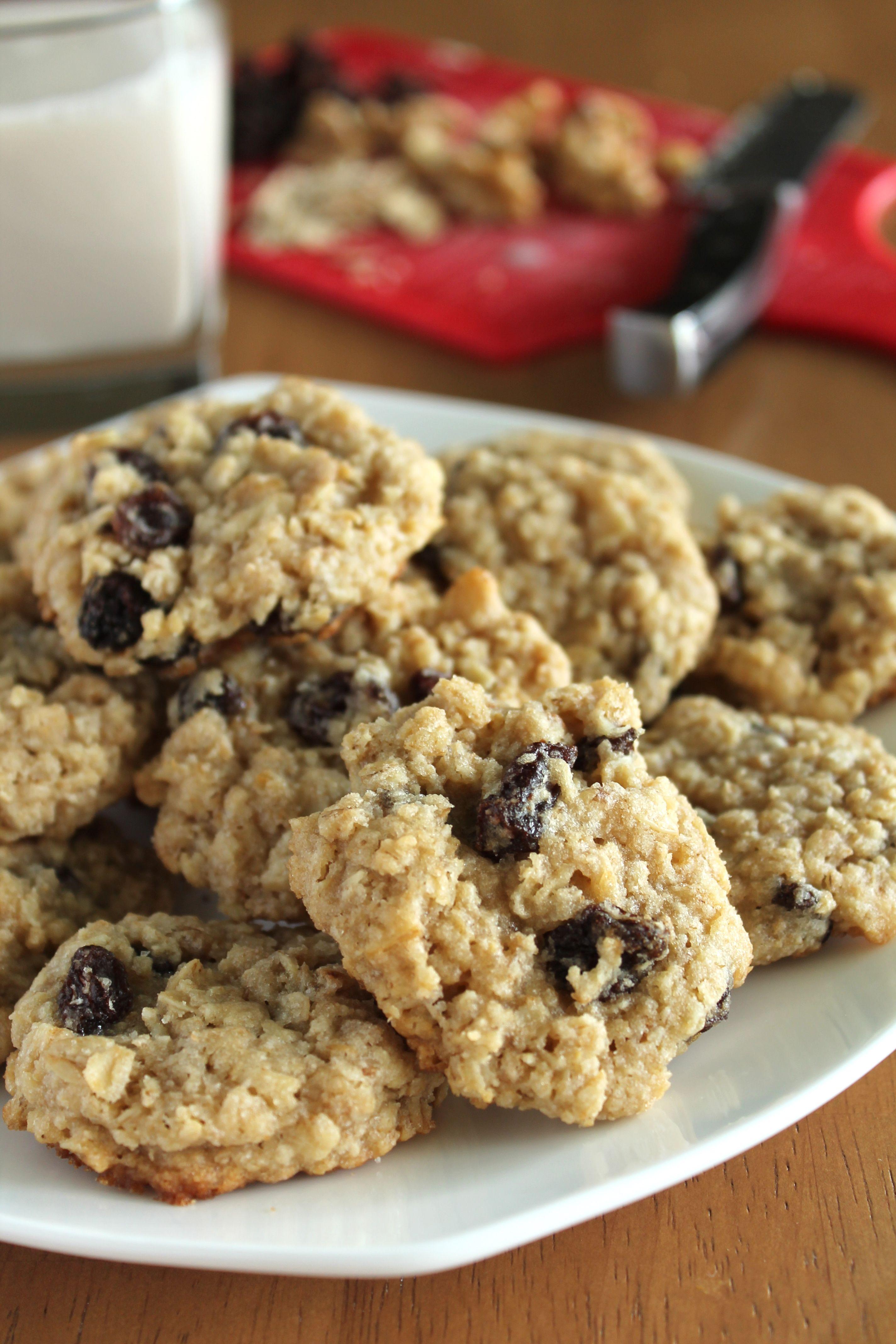 Vegan Oatmeal Raisin Cookies Recipe Vegan Oatmeal Raisin Cookies Vegan Oatmeal Cookies Raisin Cookies