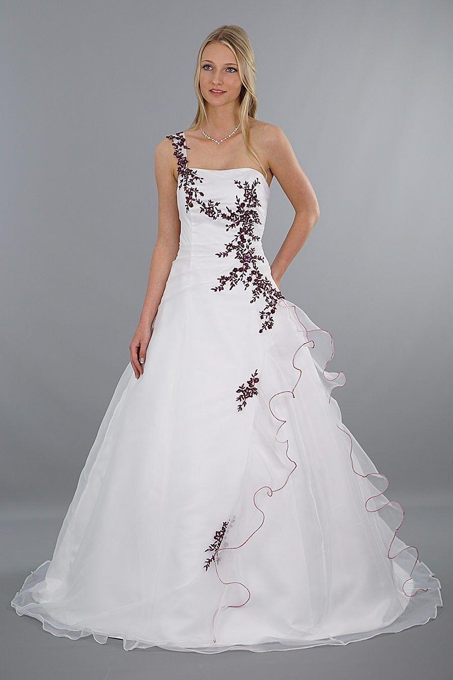 Rot Weißes Brautkleid Beautiful Brautkleid Modell Lilly Rot