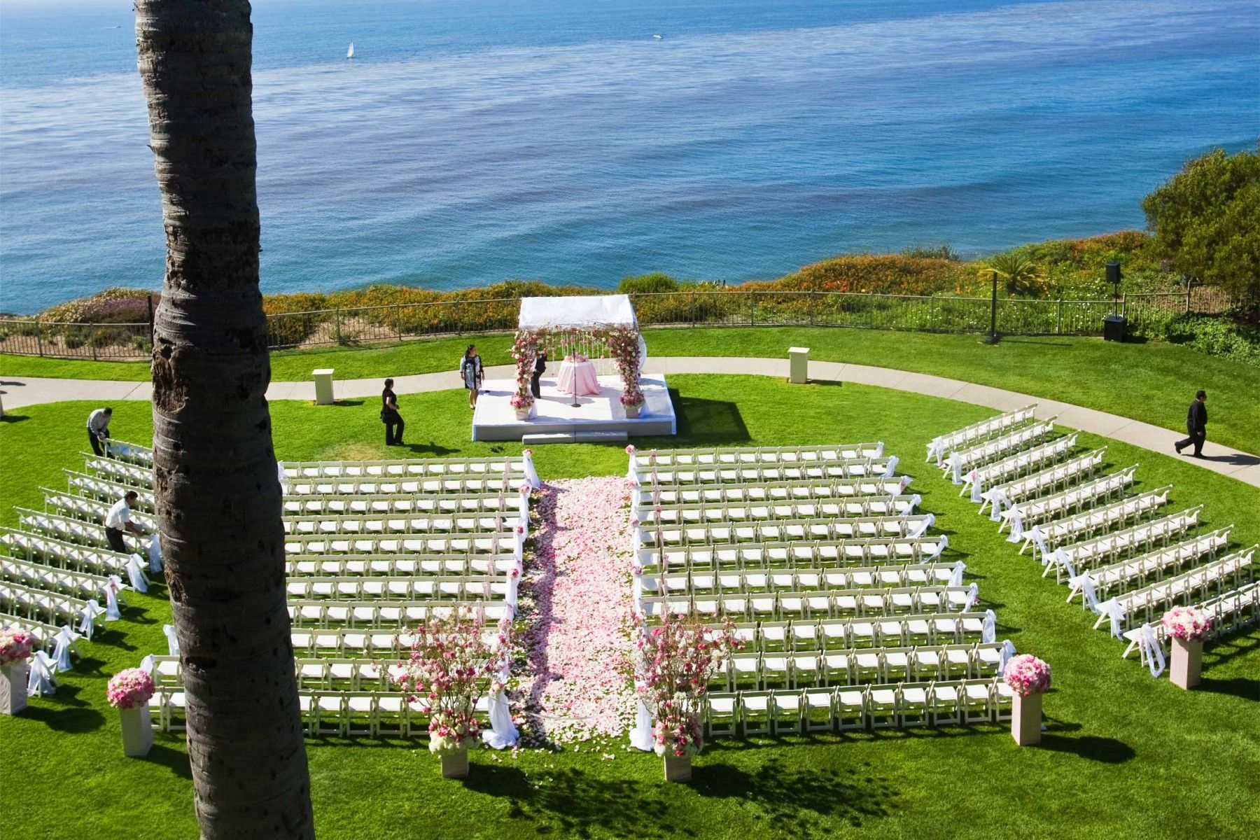 Christine And Buddy Wedding Ritz Carlton Laguna Niguel Nisie S Enchanted Florist