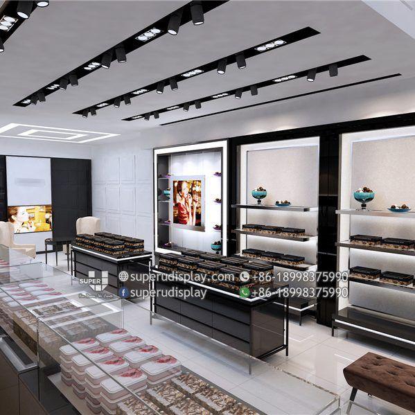 R&J Chocolate Shop Design , Store Interior Display Design