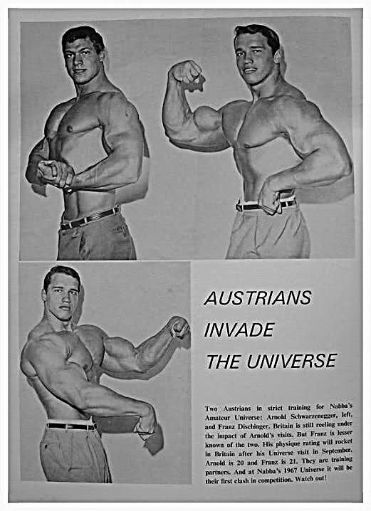 Two young men from Austria named Franz Dischinger and Arnold - new arnold blueprint ebook