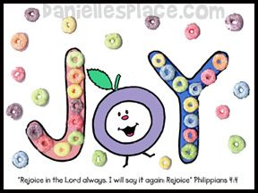 Fruit Of The Spirit Activity Sheet Joy From Www Daniellesplace