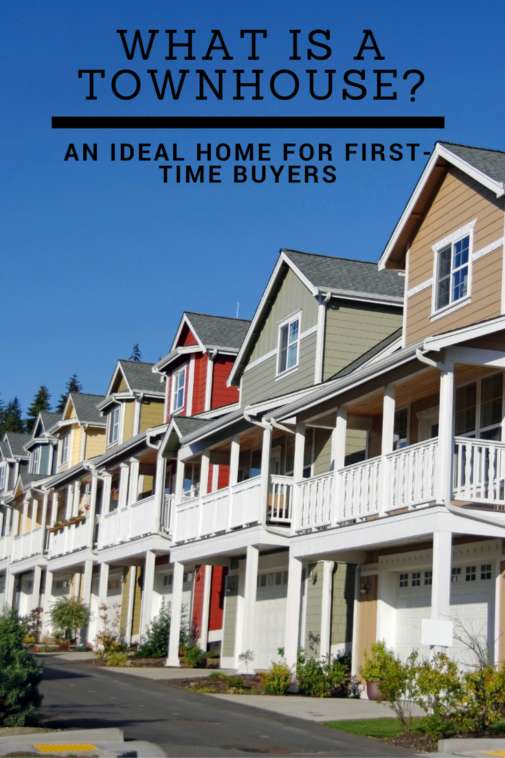 What Is A Townhouse An Ideal Home For First Time Buyers