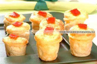 Forminhas de batata http://guiadacozinha.uol.com.br/receitas/1095-Receita-de-Forminhas-de-batata