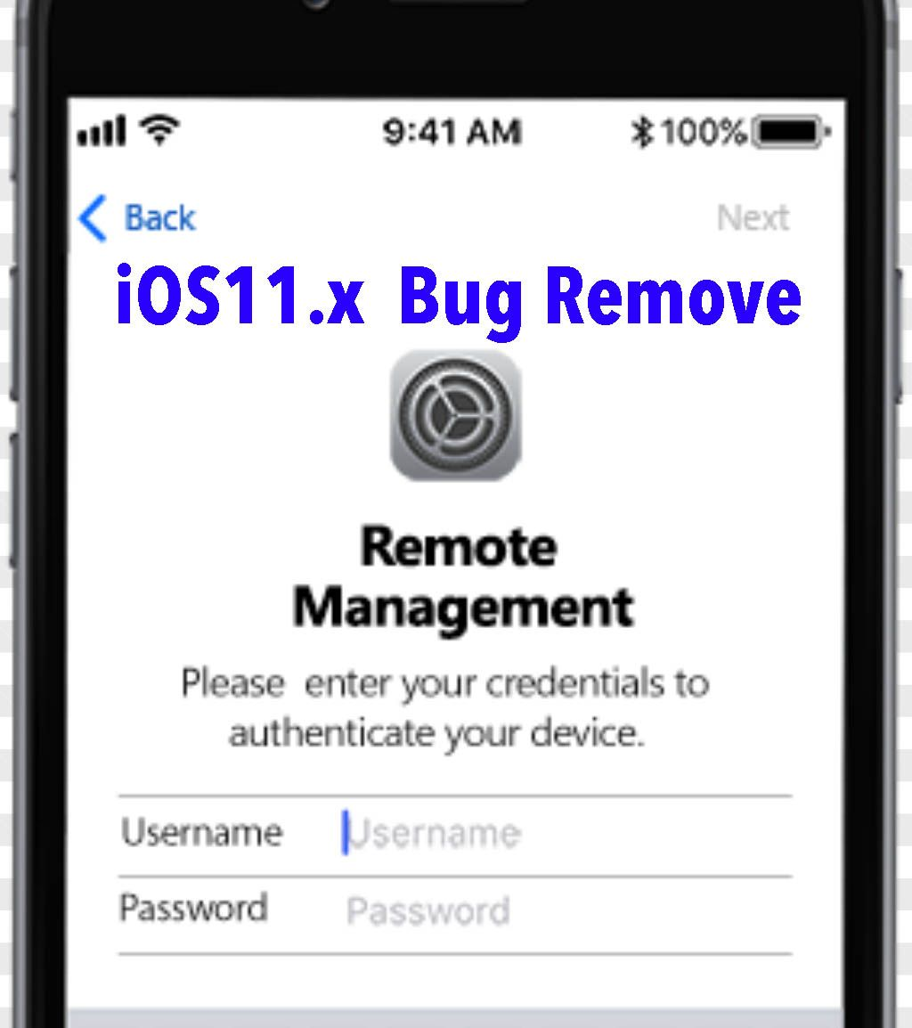 New ios11 bug mdm bypass (Mobile Device Management) free