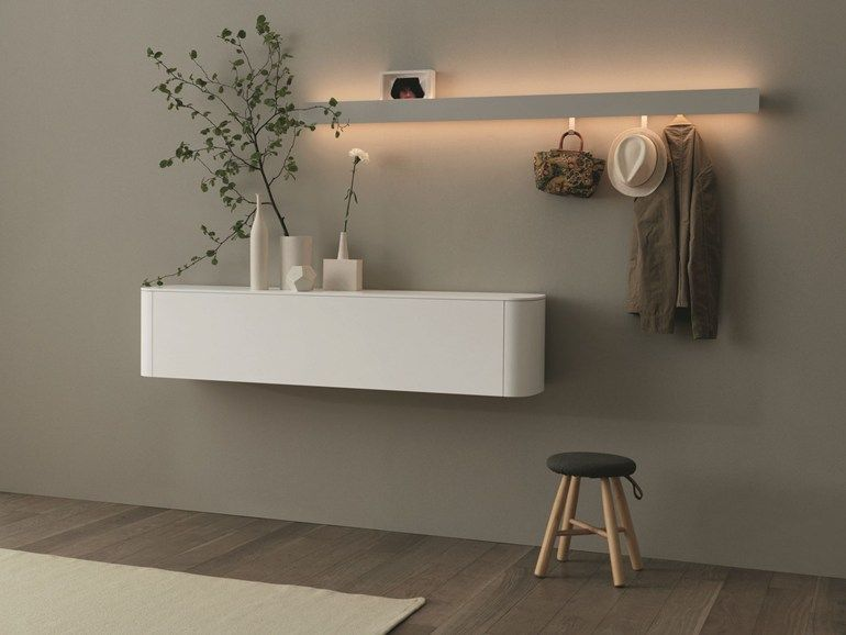 Side Suspended Sideboard Sideview Collection By Caccaro
