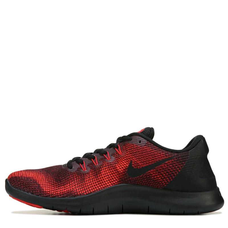 78436886e10e7 Nike Men s Flex 2018 RN Running Shoes (Black University Red)