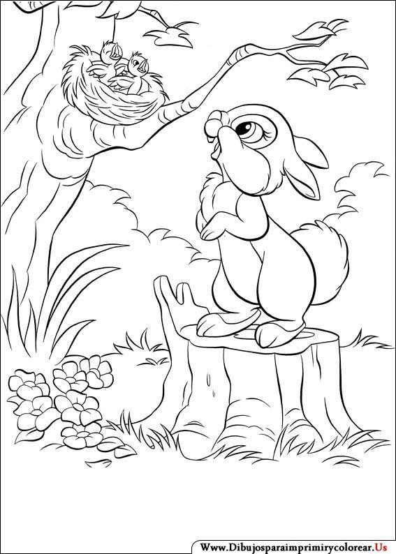 Dibujos de Disney Bunnies para Imprimir y Colorear | orquidea ...