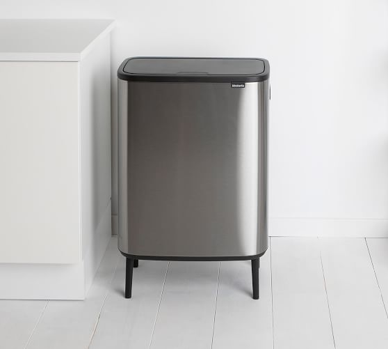 Brabantia Bo Touch Trash Can Large Trash Can Brabantia Kitchen Trash Cans