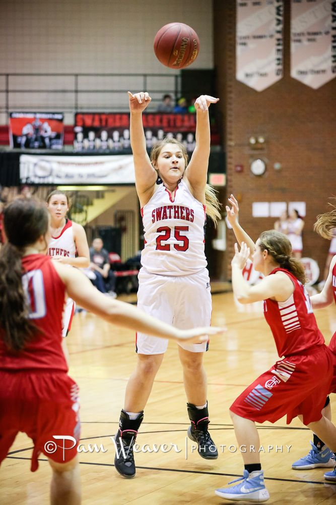 You had to admire the Hutch Trinity Celtics. They played hard and never gave up but they were just not a match for the Lady Swathers who rolled to an easy victory 58-12. The Swather defense was sti…