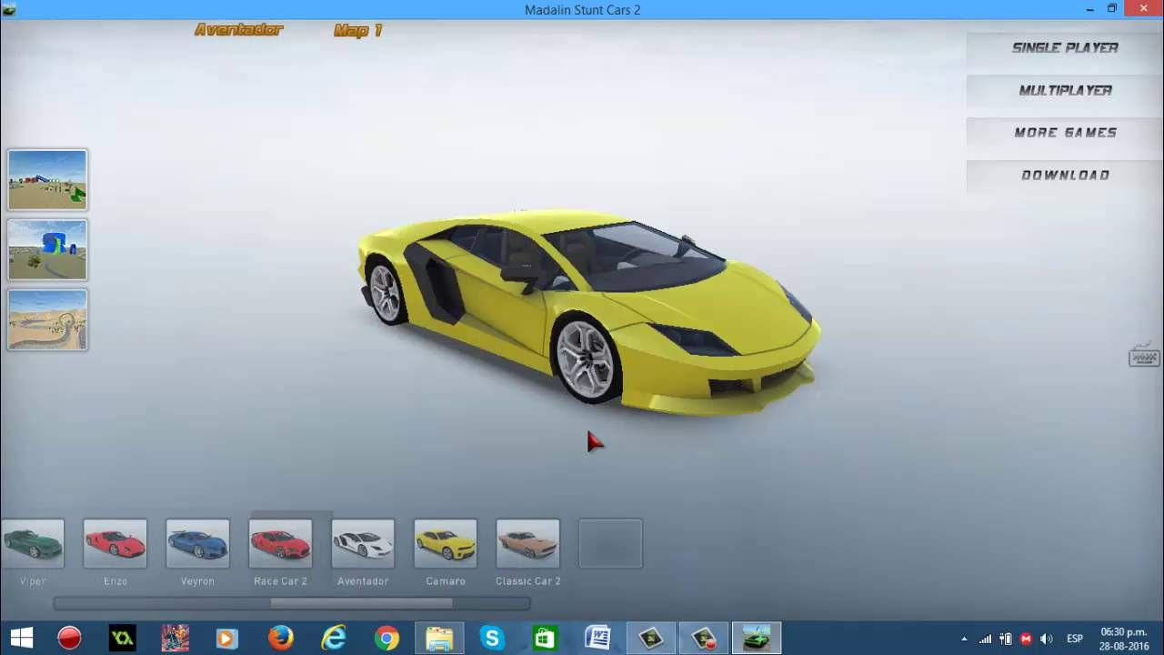 Madalin Stunt Cars 2 is an online 3D game and 100 of