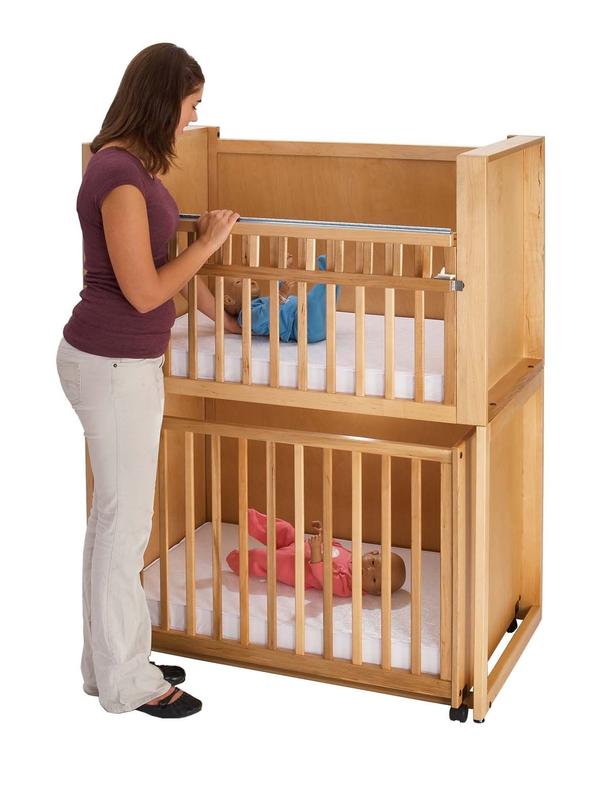 c 2 two infant bunkies crib stacking cribs by southeast church supply henley grace foret. Black Bedroom Furniture Sets. Home Design Ideas