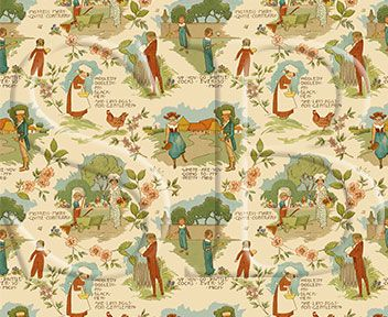 Miniature Wallpapers and Fabrics - Arts and Crafts
