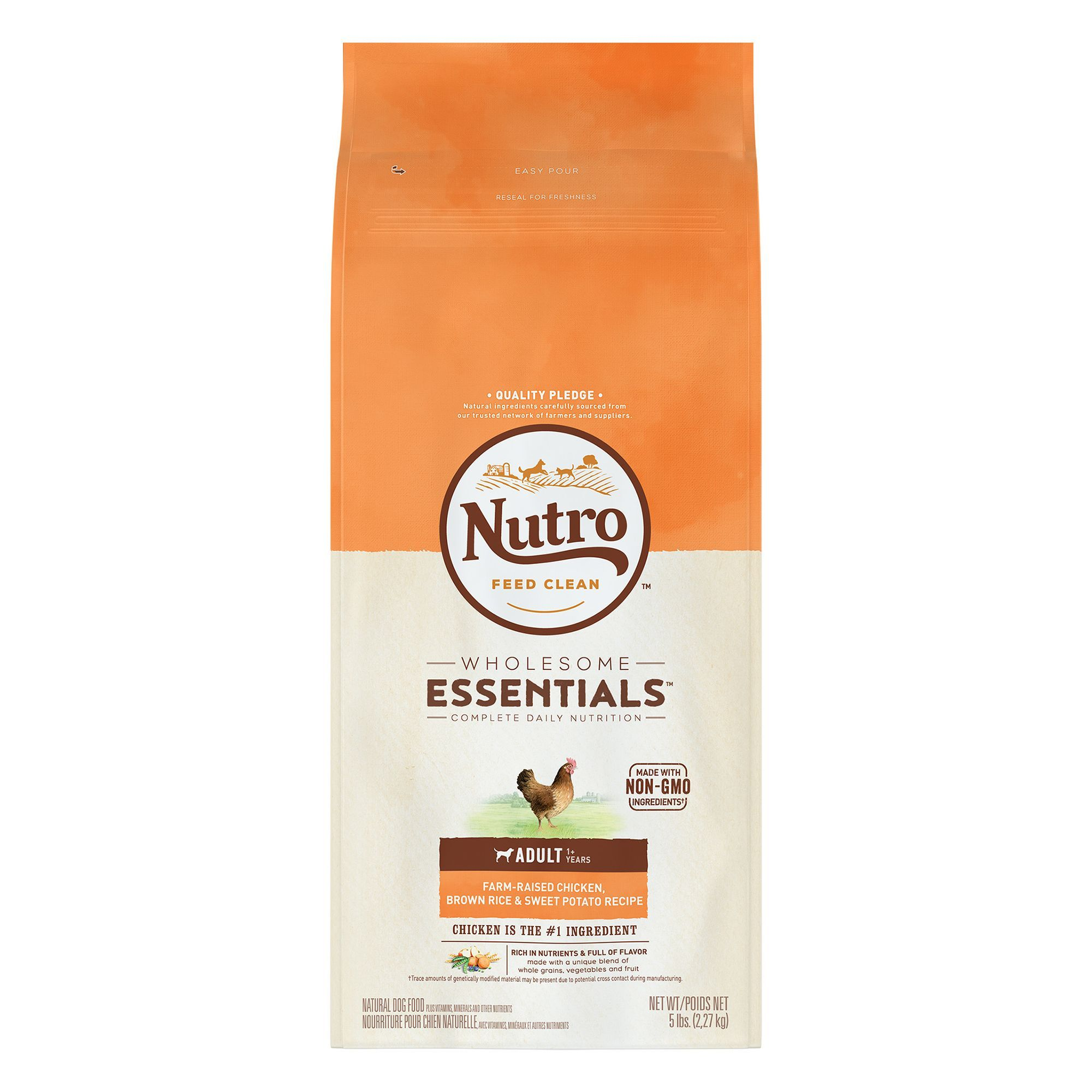 Nutro Wholesome Essentials Adult Dog Food Natural Chicken