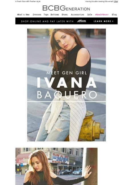 Hollywood's Newest Hero // Meet Gen Girl Ivana Baquero  #offer #sale