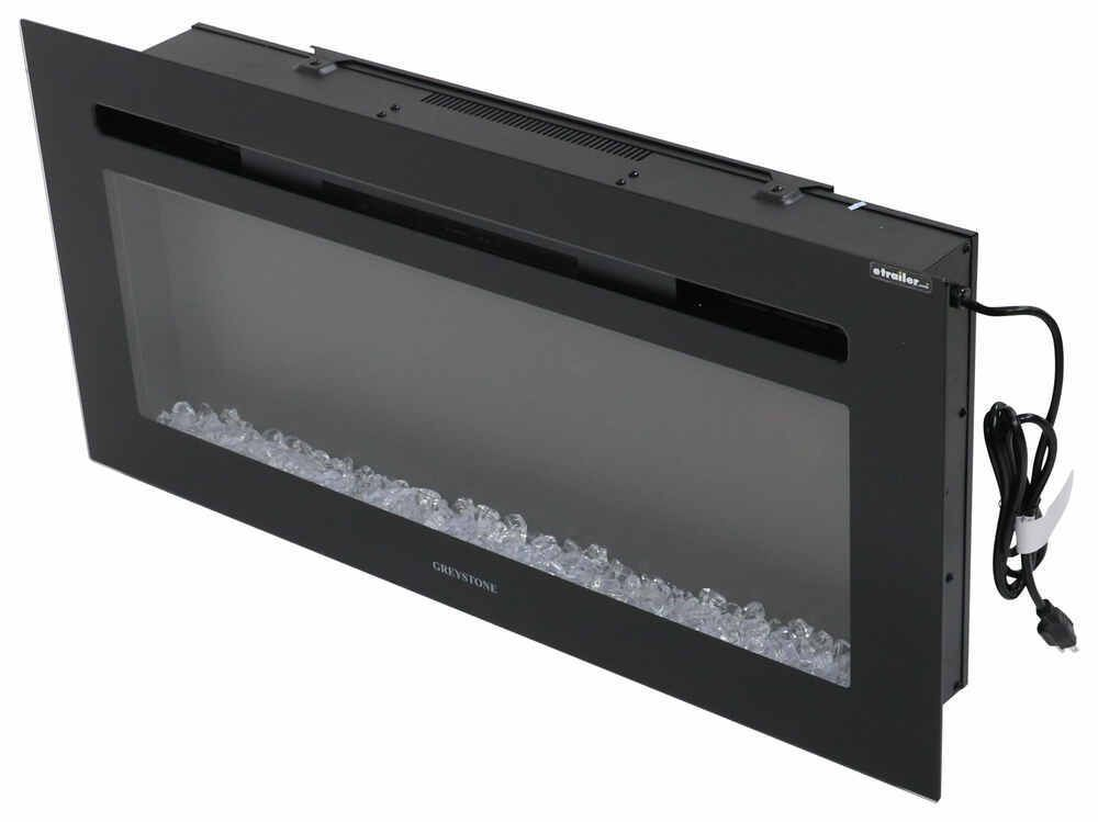 Greystone 36 Electric Fireplace With Crystals Wall Mount