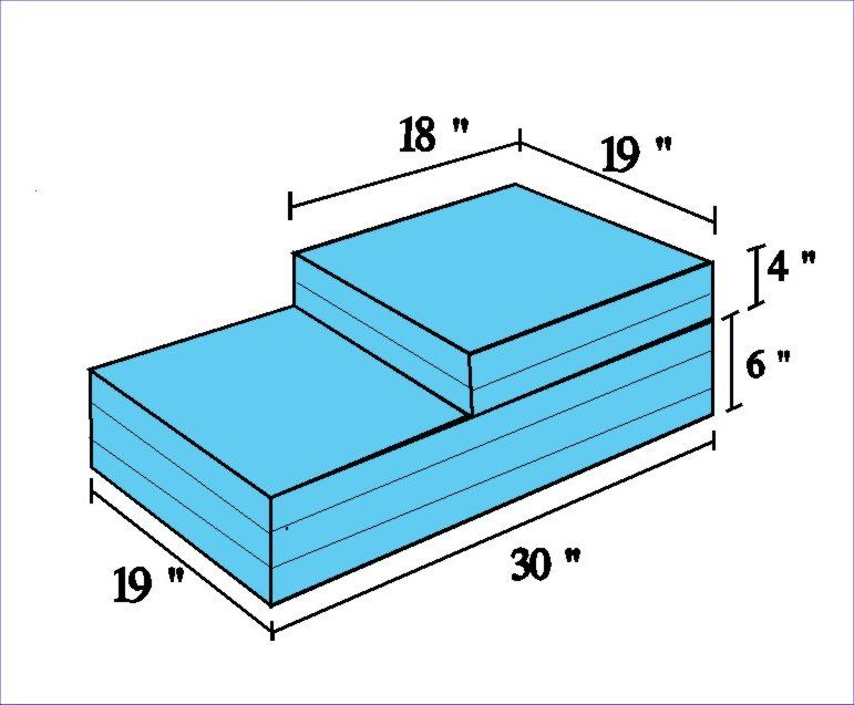 Merveilleux INEXPENSIVE DOG STEP ( DOG STEPS ) FOR AGING DOGS (Cheap Alternative To  Ramp)