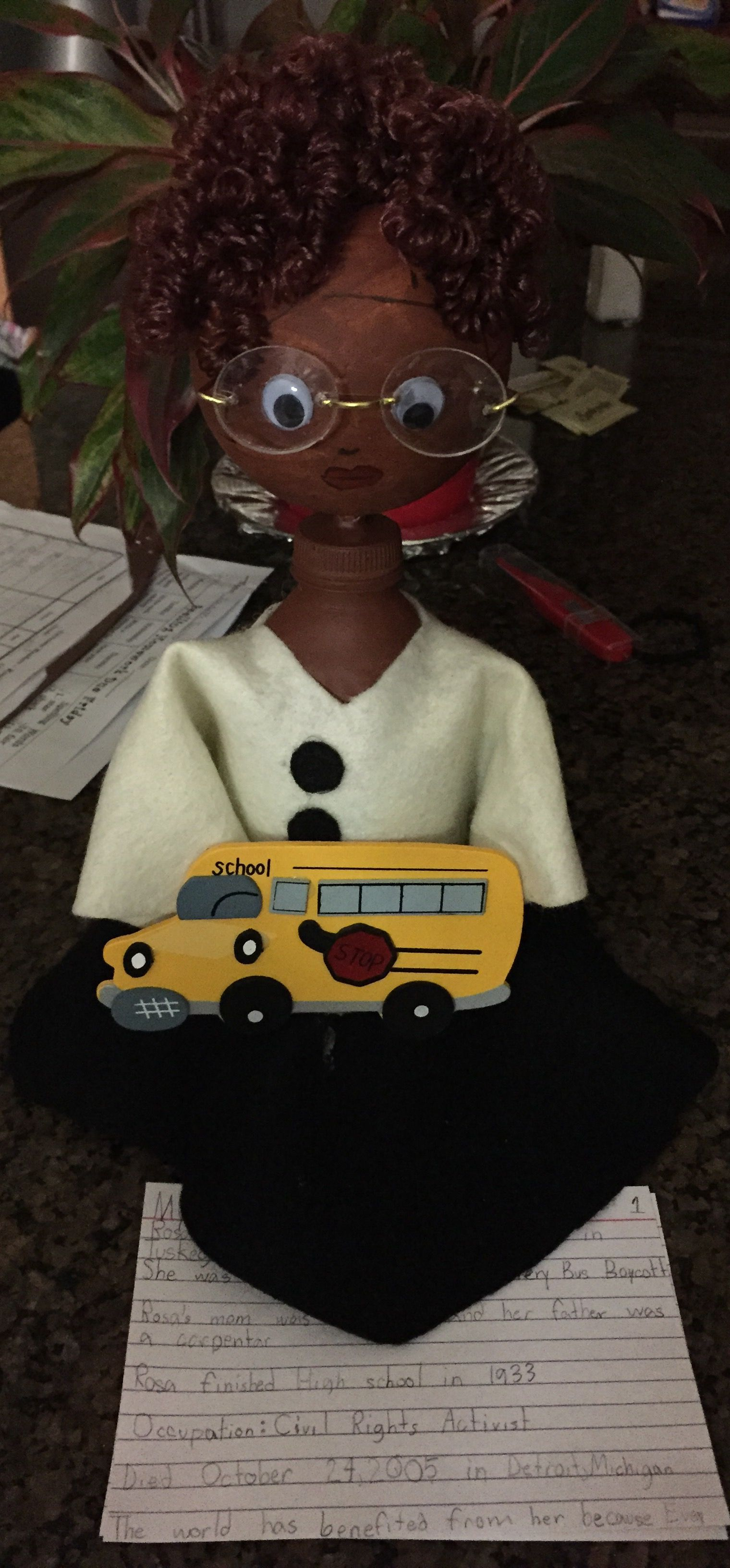 Rosa Parks Bottle Buddy With Images
