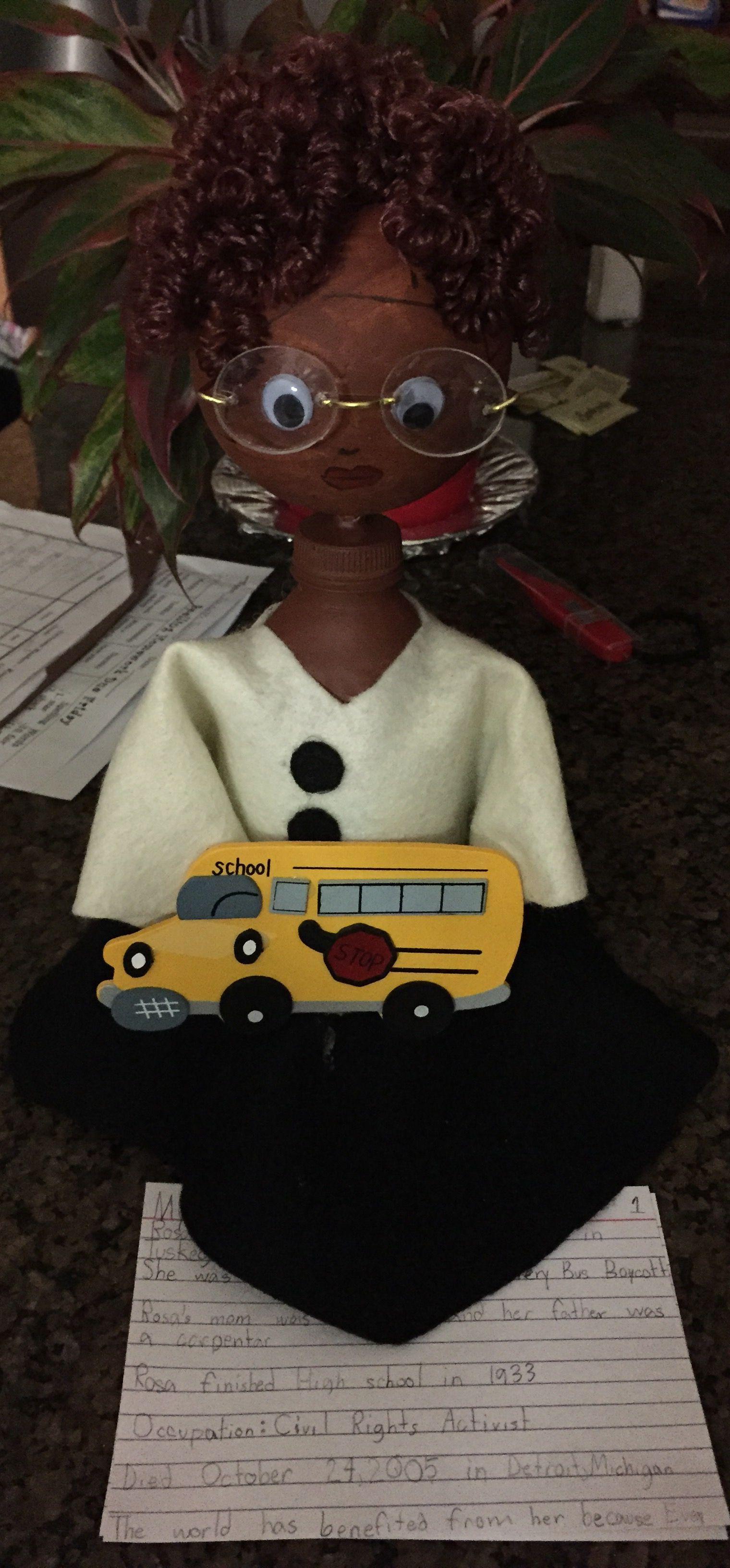 Rosa Parks Bottle Buddy