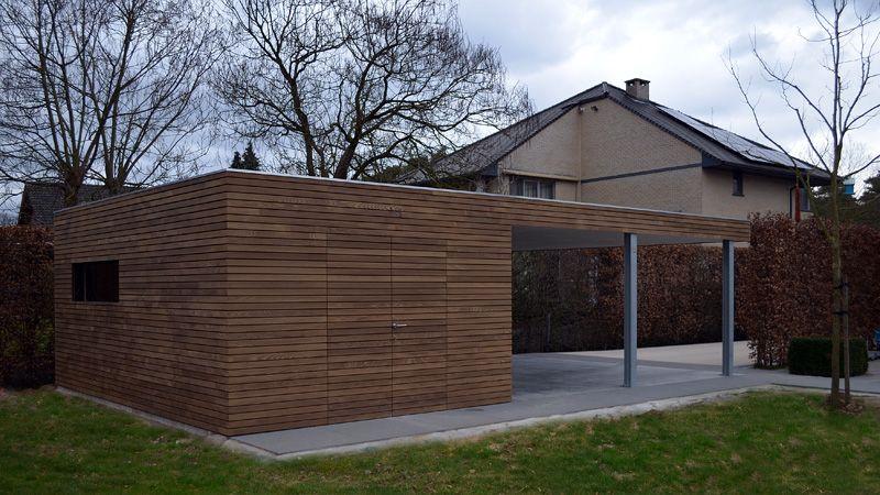 Moderne Carport moderne carports in hout livinlodge outdoor ideas