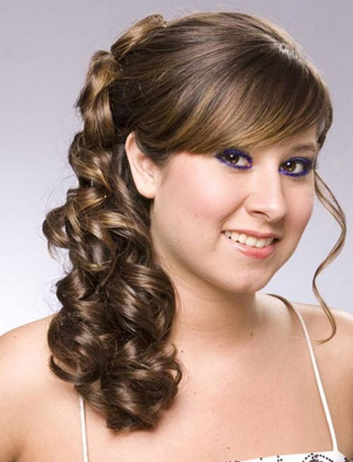 Awesome Wedding Hairstyle For Round Face To Look Slim Hi There - Hairstyle for round face to look slim