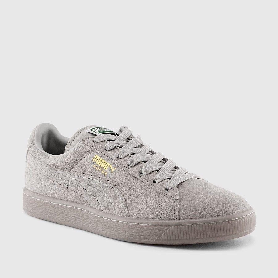 suede classic pumas gray