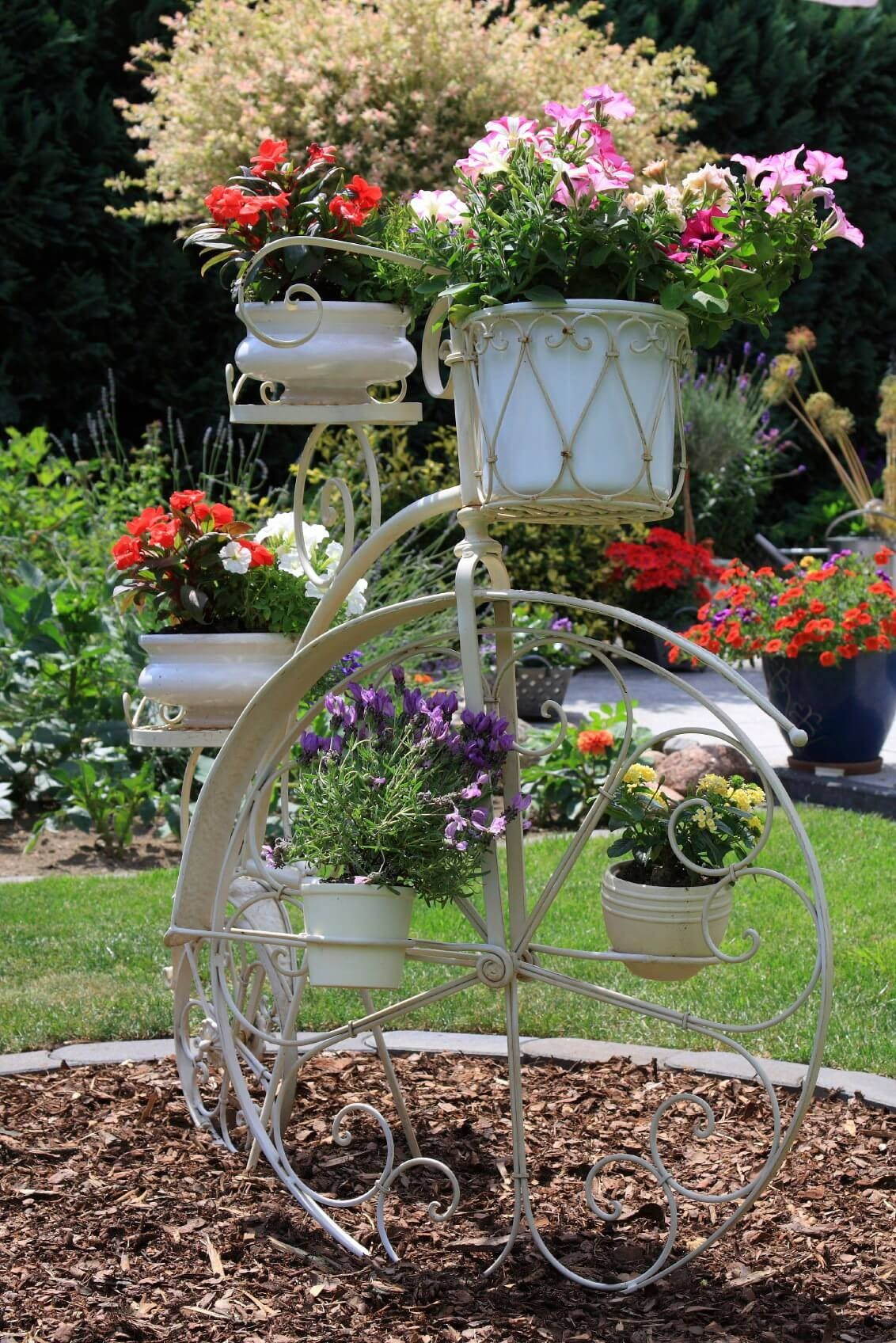 Here S A Penny Farthing Bicycle Flower Planter Planters Unique