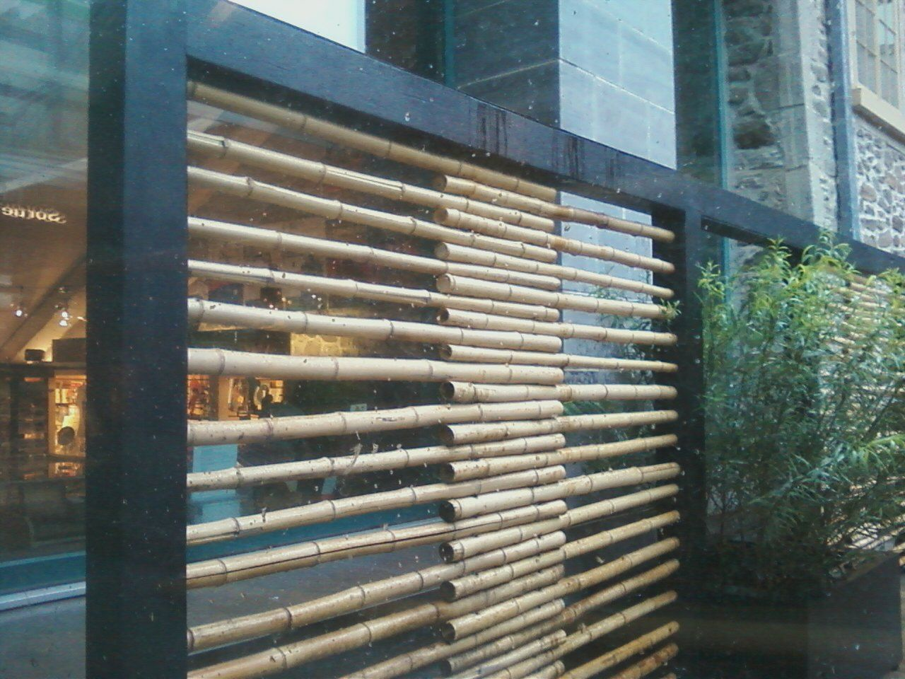 Easy bamboo screen post renting pinterest bamboo Bamboo screens for outdoors