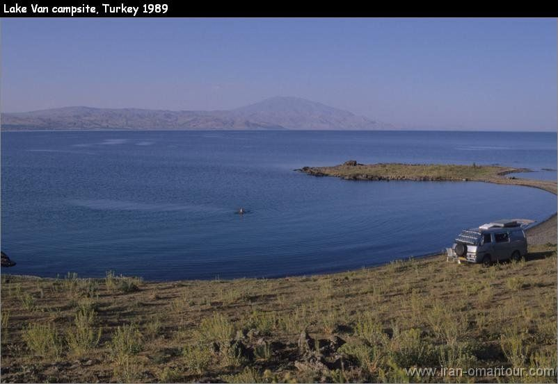 Free life: Campsite Lake Van Golu Turkey....◇◇