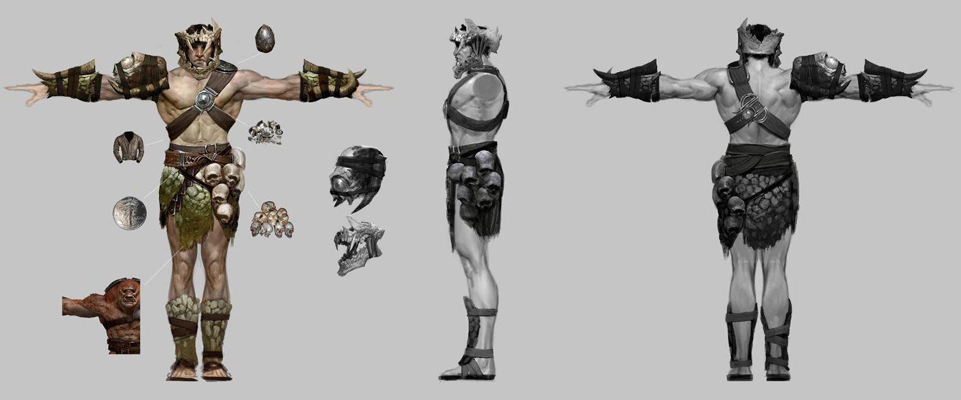 god of war ascension concept art by anthony jones armor