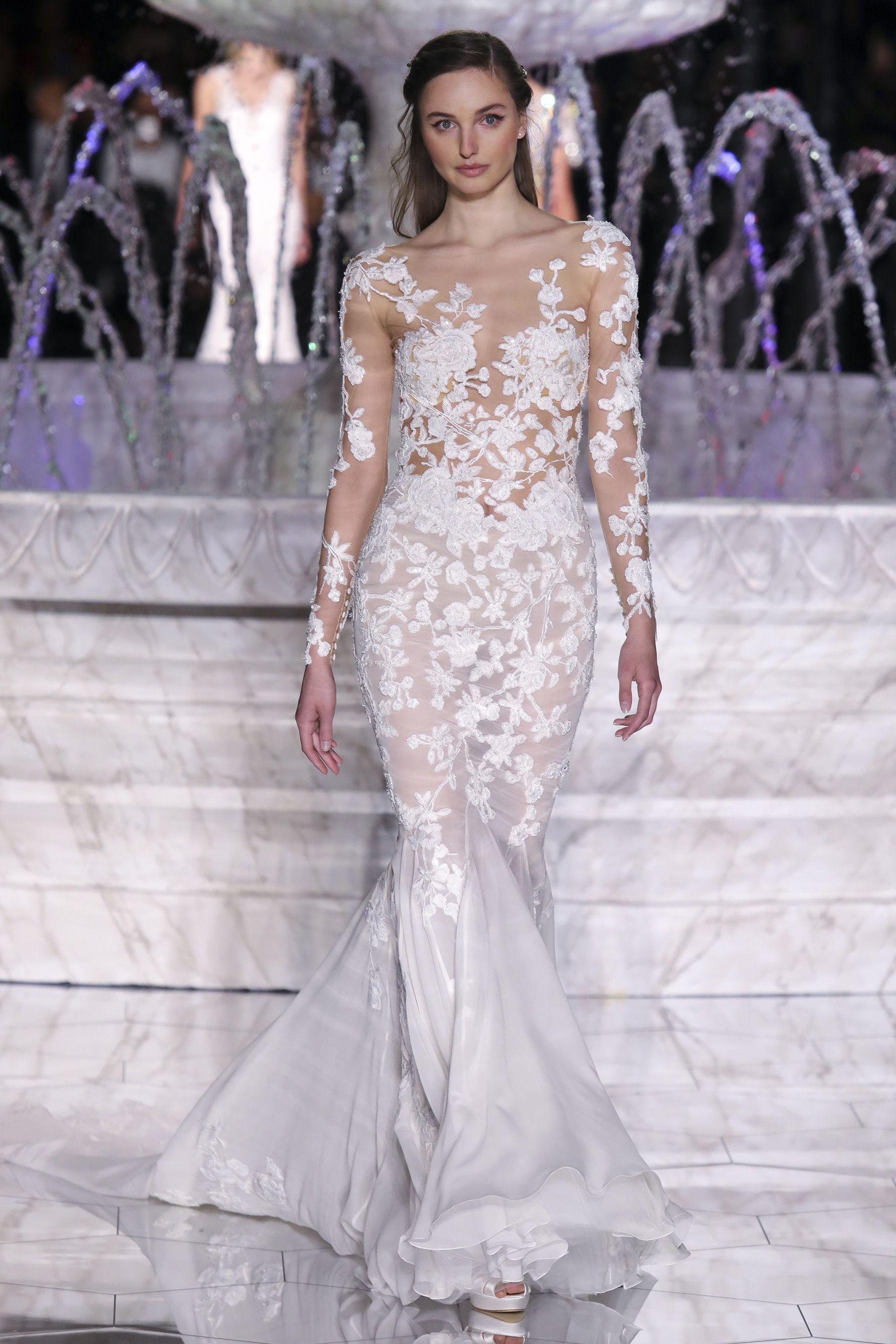 Pronovias spring bridal fashion show the impression