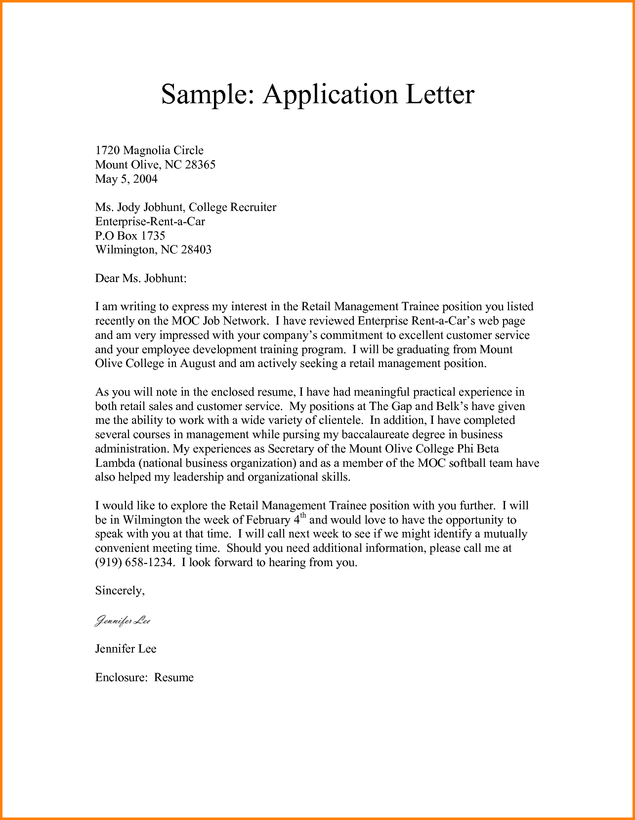 Application Letter For Employee from i.pinimg.com