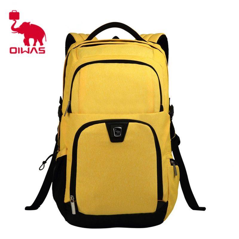 Oiwas 30.7L Laptop Women Men Travel bag Business Backpack Waterproof School  Backpack Bookbag Travelling Backpack 33545848d7