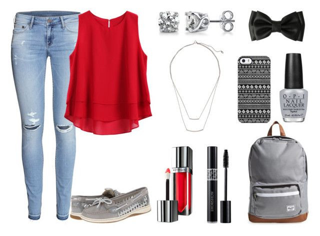 """""""Back To School Style #3"""" by fivesaucecalxm ❤ liked on Polyvore"""