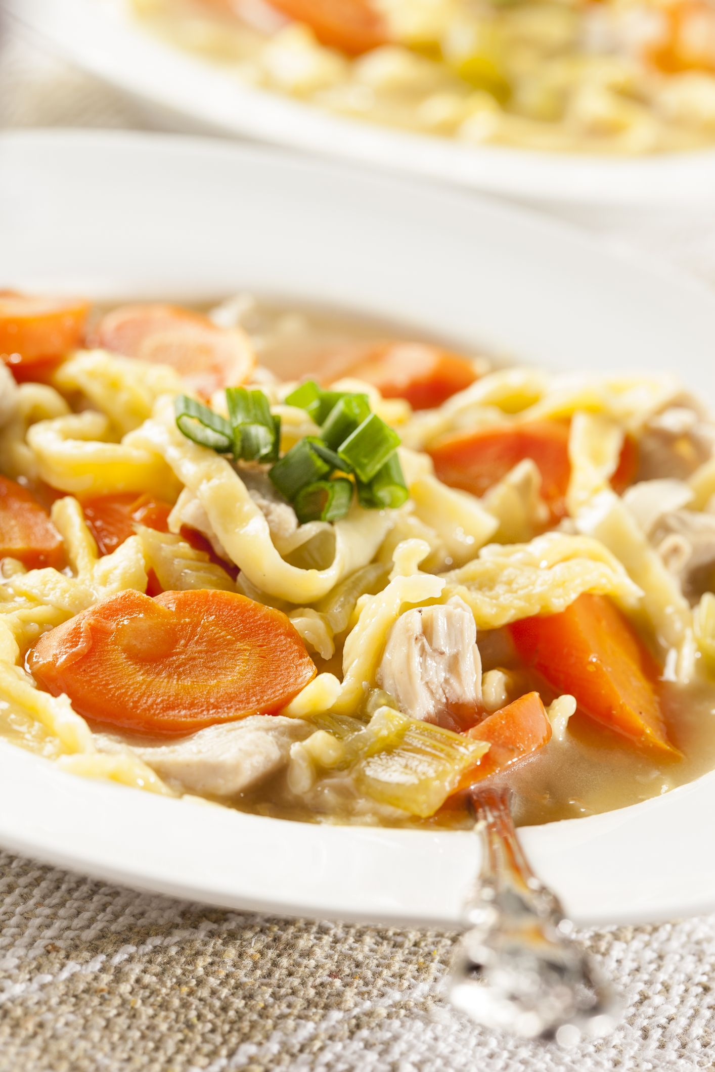 Homemade Turkey Noodle Soup Recipe from Grandmother's