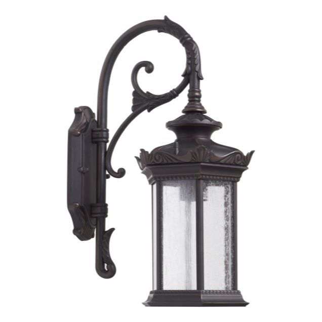 Caulfield Exterior Coach Lamp In Antique Bronze From Lode