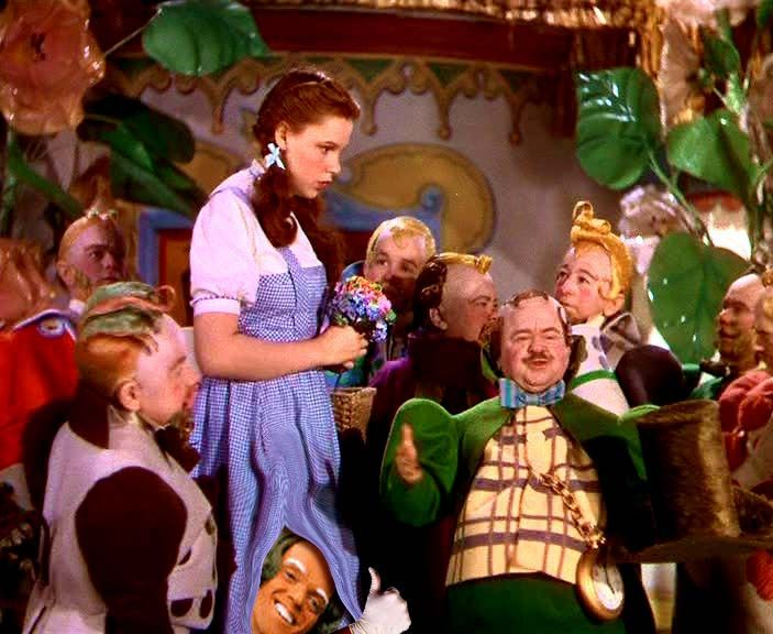 Image result for ugly munchkins wizard of oz