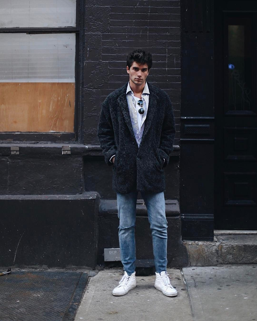 Americanvintage Rinatown Coat Marc Forne Mens Fall Street Style Hipster Mens Fashion Mens Fashion Fall
