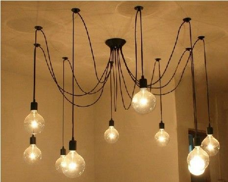 housing Home Furnishing stylish living room bedroom study lamps The heavenly maids scatter blossoms. chandelier 10 head