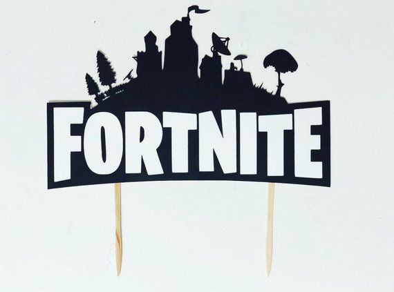 Fortnite Cake Topper Fortnite Party Supplies Available