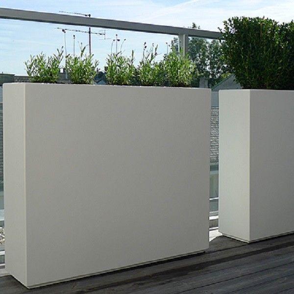 90/25/80cm Fibreglass Buxus Slim Trough Planter/Garden Plant Pot/Box  Container