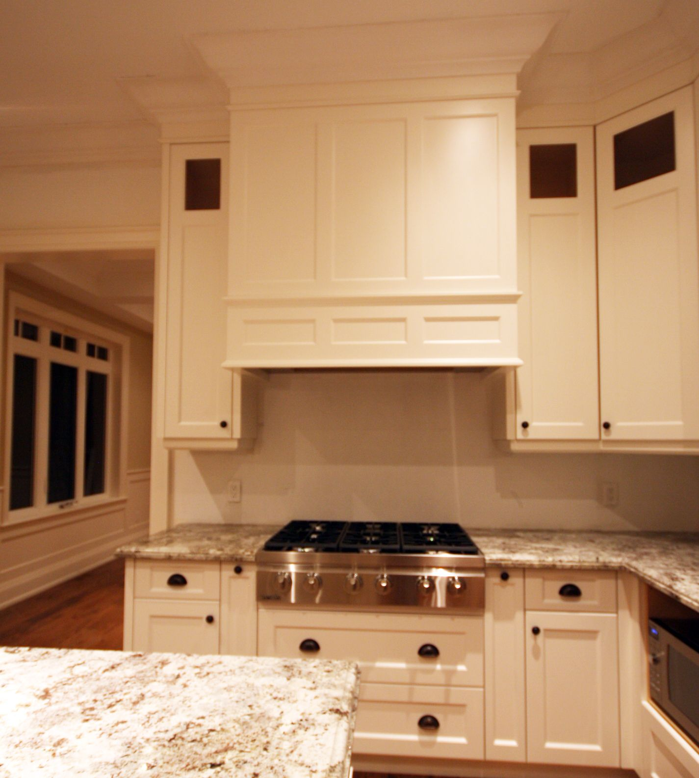 Prasada Kitchens And Fine Cabinetry: Integrating Today's Conveniences With Style. Kitchen Hood
