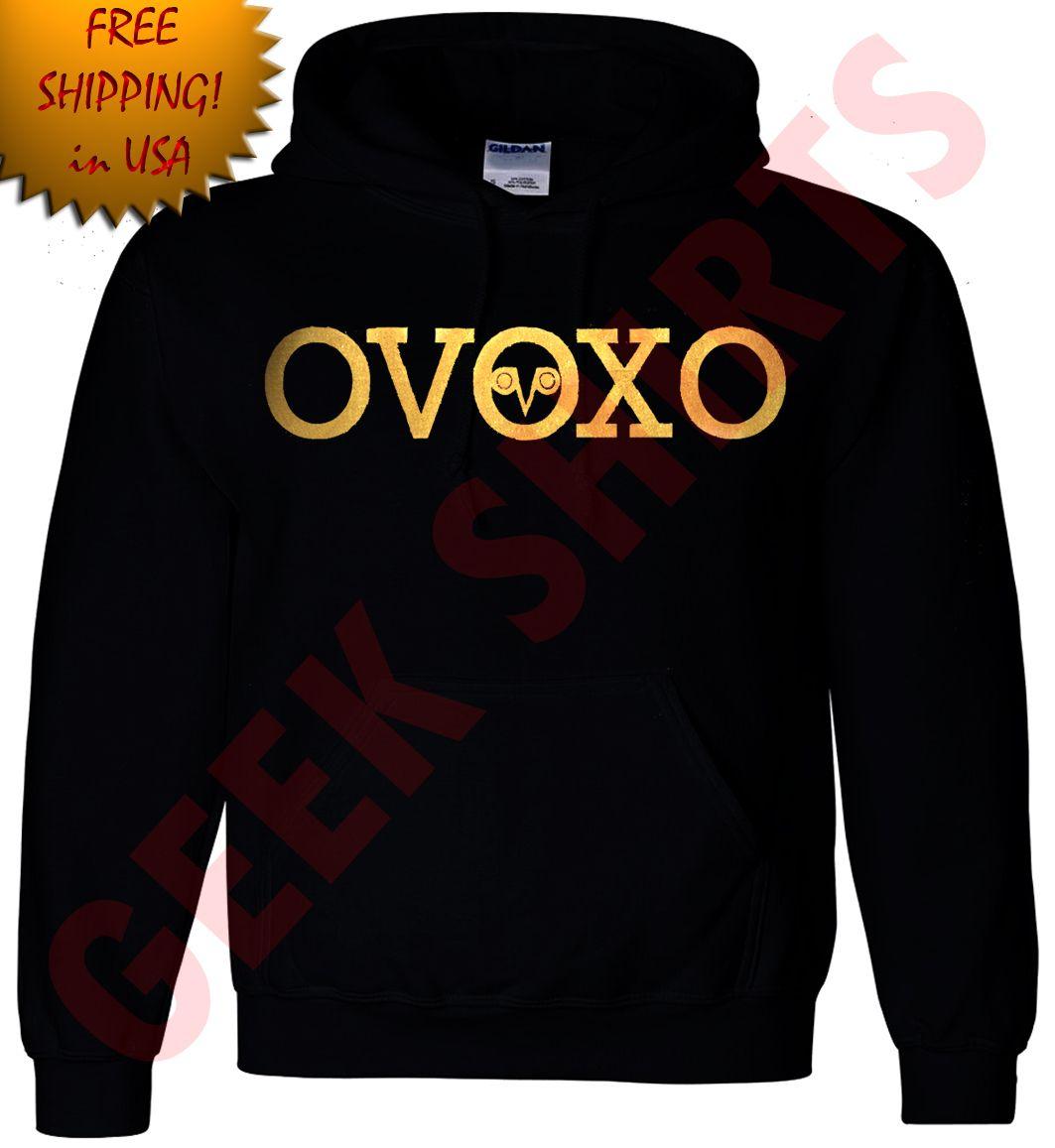 c2a129c1c3abd GOLD OVO Drake Take Care Hoodie OVOxo owl YMCMB hooded sweat shirt YL-5X  hoody 1